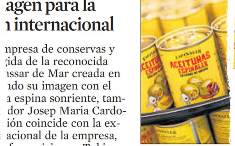 Nueva imagen para la expansión internacional – La Vanguardia (Nov 2015)